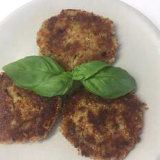 Vegan suvikõrvitsa kotletid tofuga