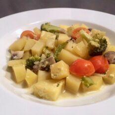 Brokkoli-kartuli ahjuvorm