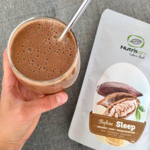 Šokolaadi-maapähkli smuuti